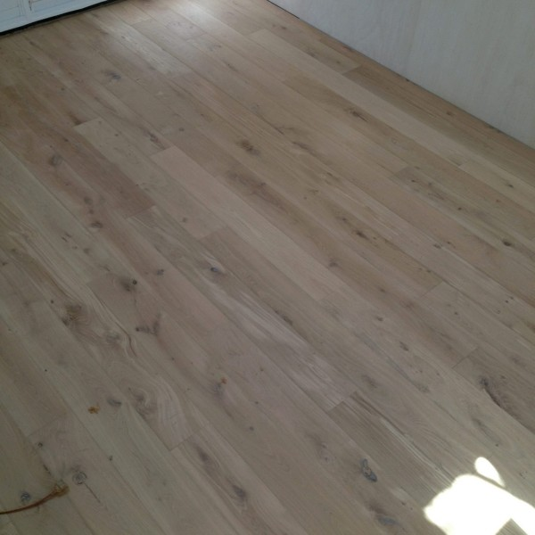raw oak-fumed monocoat white oil finish